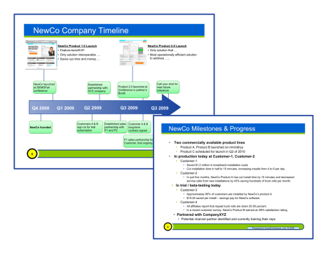 Company Timeline and Milestones